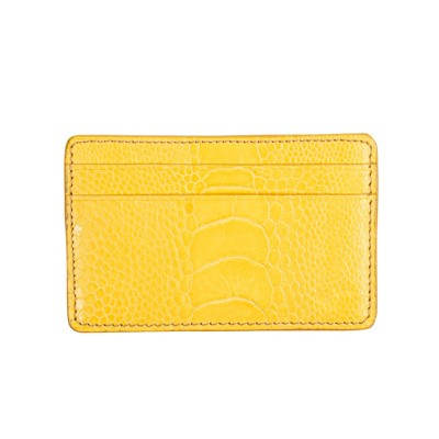 Card Holder Yellow