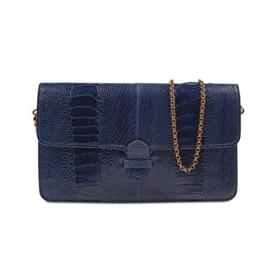 Accordion Crossbody Wallet Bleumarin